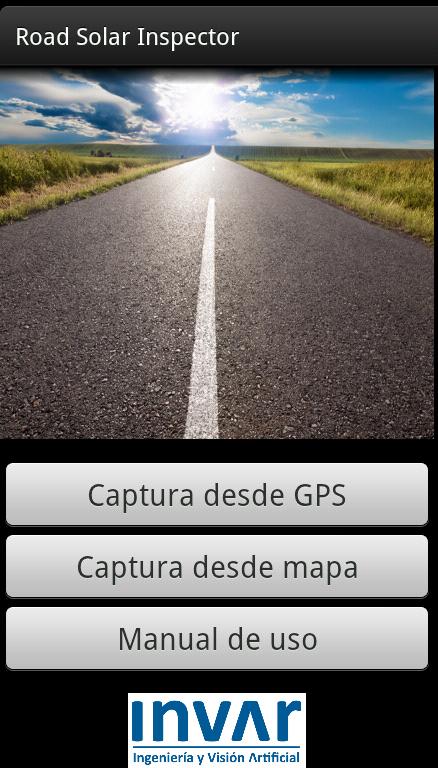 Menu inicio app